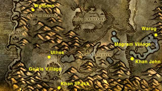 Gelkis and Magram Villages in Southern Desolace